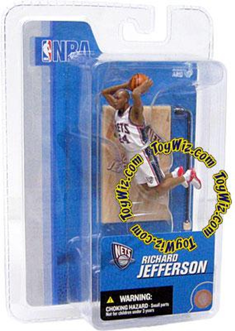 McFarlane Toys NBA New Jersey Nets Sports Picks 3 Inch Mini Series 3 Richard Jefferson Mini Figure