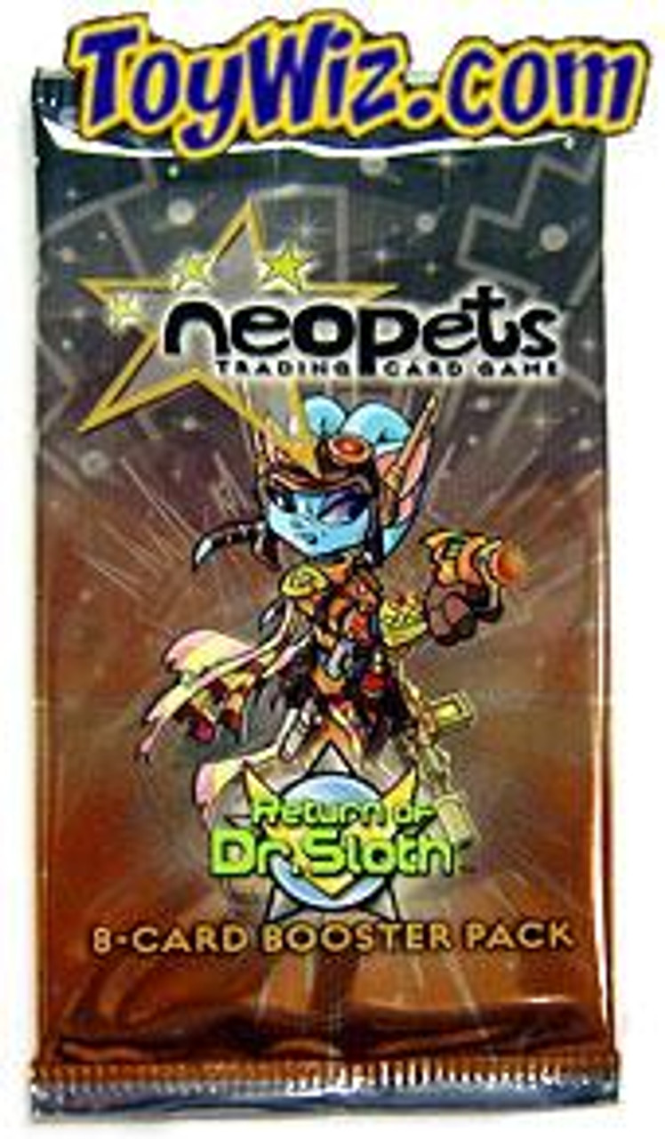 Neopets Trading Card Game Return of Dr. Sloth Booster Pack