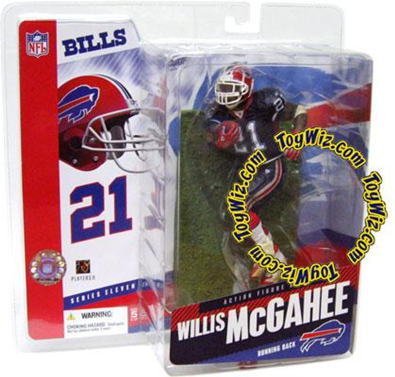McFarlane Toys NFL Buffalo Bills Sports Picks Series 11 Willis McGahee Action Figure [Blue Jersey]