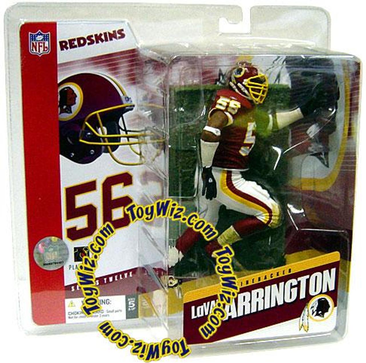 McFarlane Toys NFL Washington Redskins Sports Picks Series 12 Lavar Arrington Action Figure [Red Jersey]