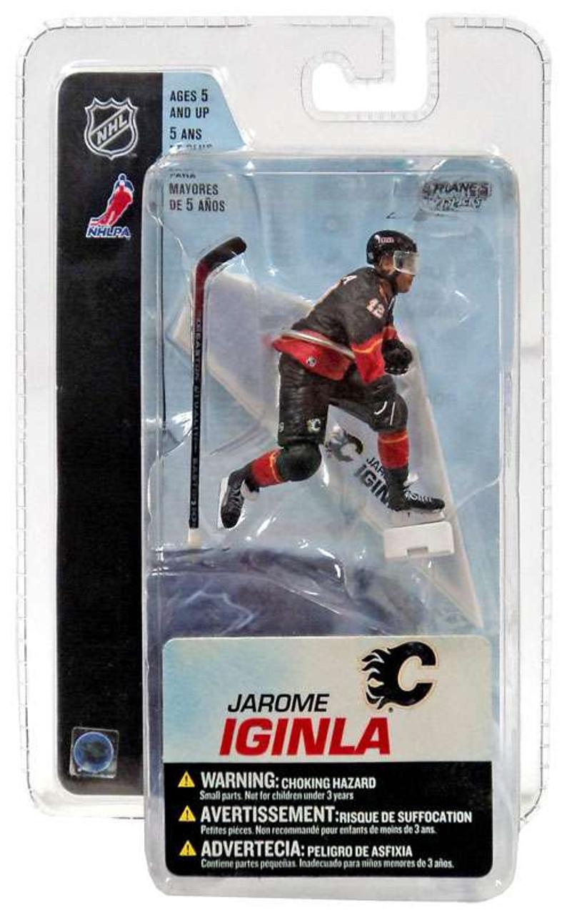 McFarlane Toys NHL Calgary Flames Sports Picks 3 Inch Mini Series 3 Jarome Iginla Mini Figure