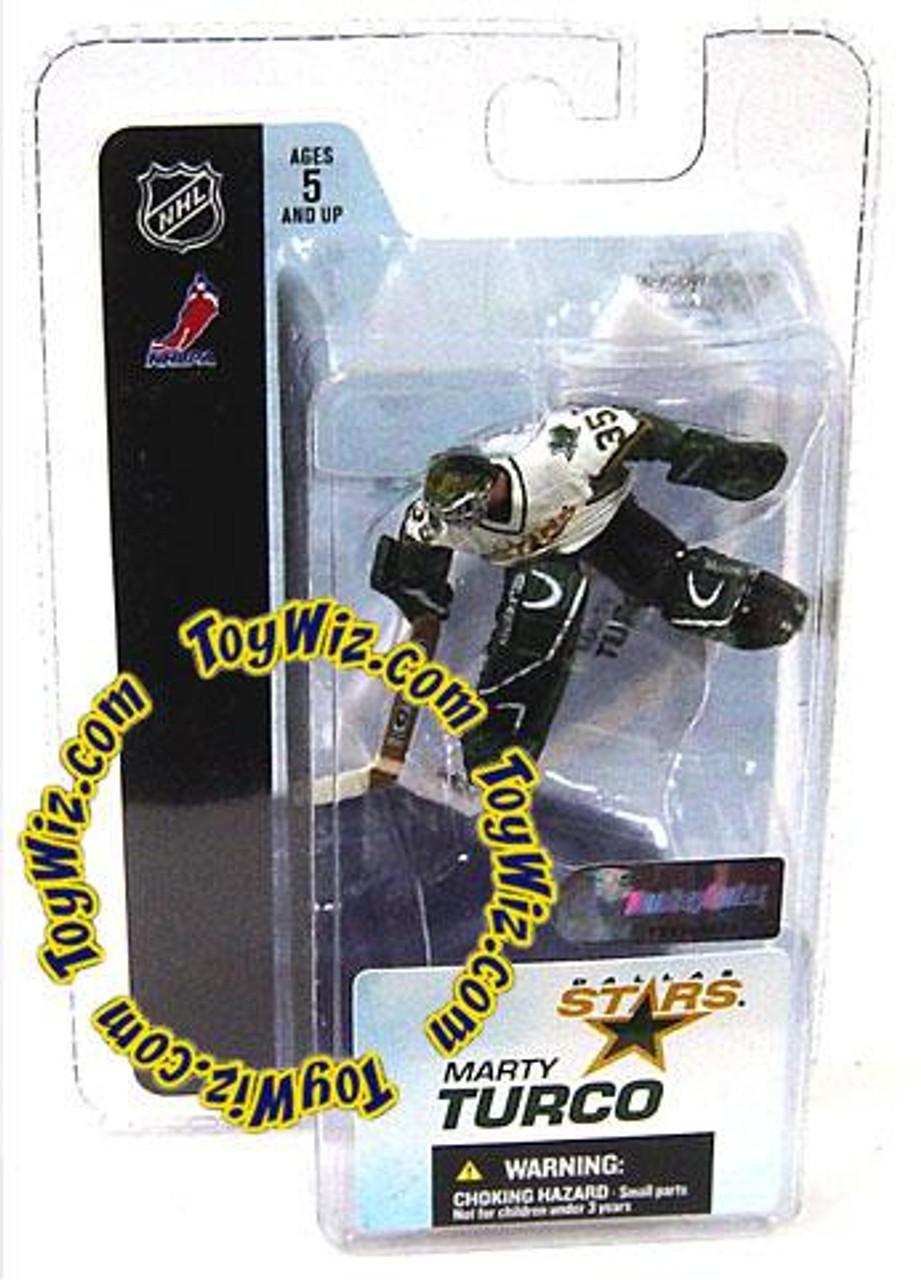 McFarlane Toys NHL Dallas Stars Sports Picks 3 Inch Mini Series 3 Marty Turco Mini Figure