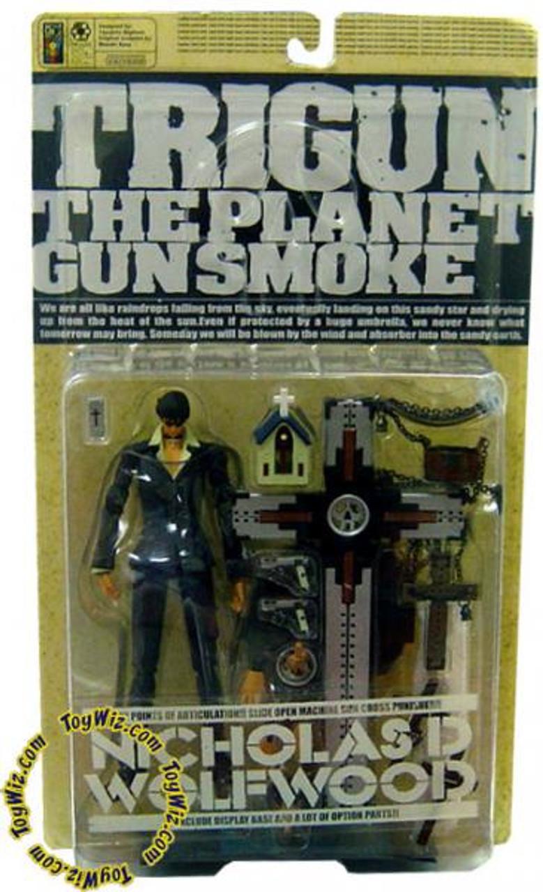 Trigun The Planet Gunsmoke Nicholas D. Wolfwood Action Figure