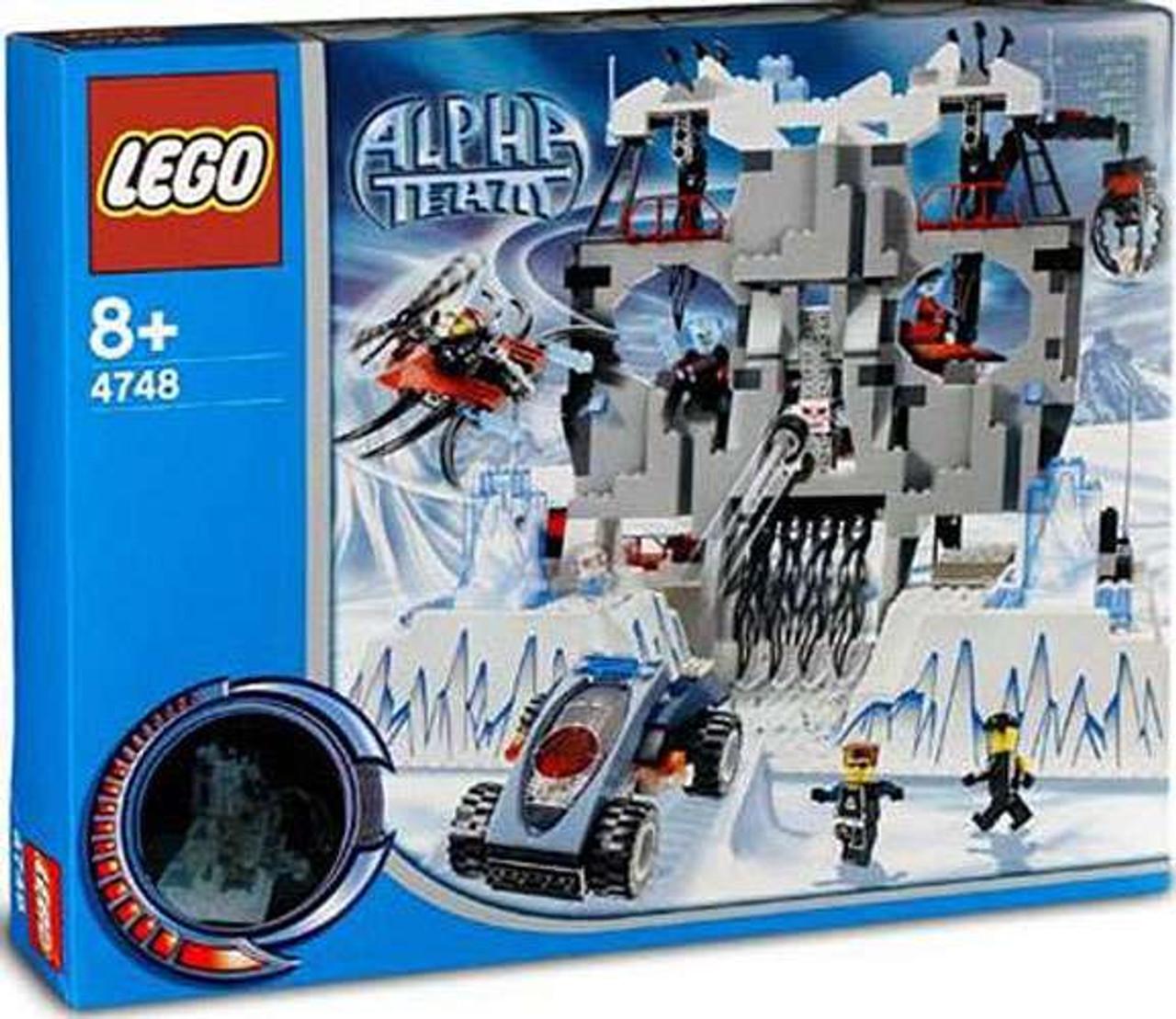 LEGO Alpha Team Ogel's Mountain Fortress Set #4748