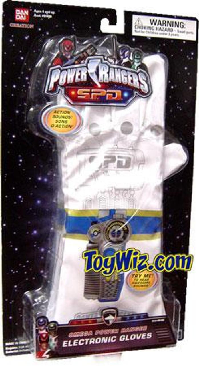 Power Rangers SPD Omega Power Ranger Electronic Gloves Roleplay Toy