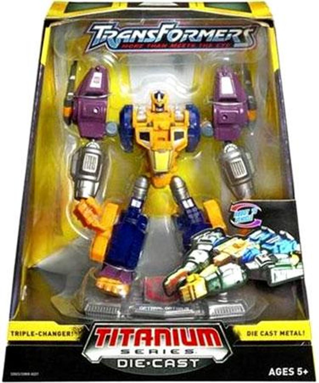 "Transformers Beast Wars TItanium Series Optimal Optimus 6-Inch 6"" Diecast Figure"