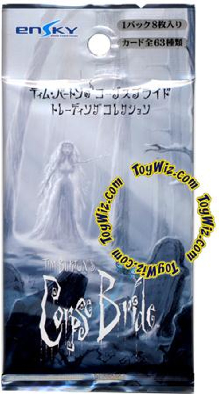 EnSky Japanese Corpse Bride Trading Card Pack