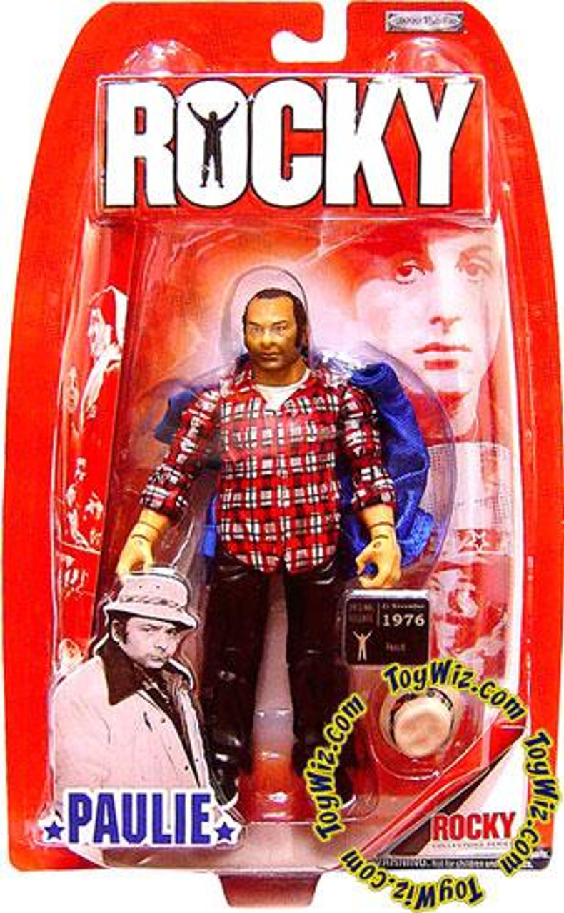 Rocky I Paulie Action Figure