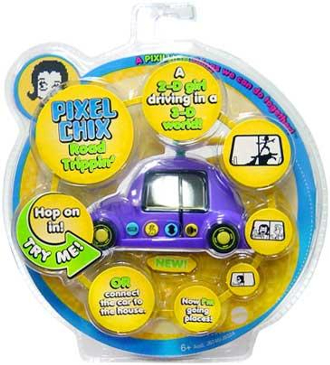Pixel Chix Road Trippin' Electronic Game [Random Color]