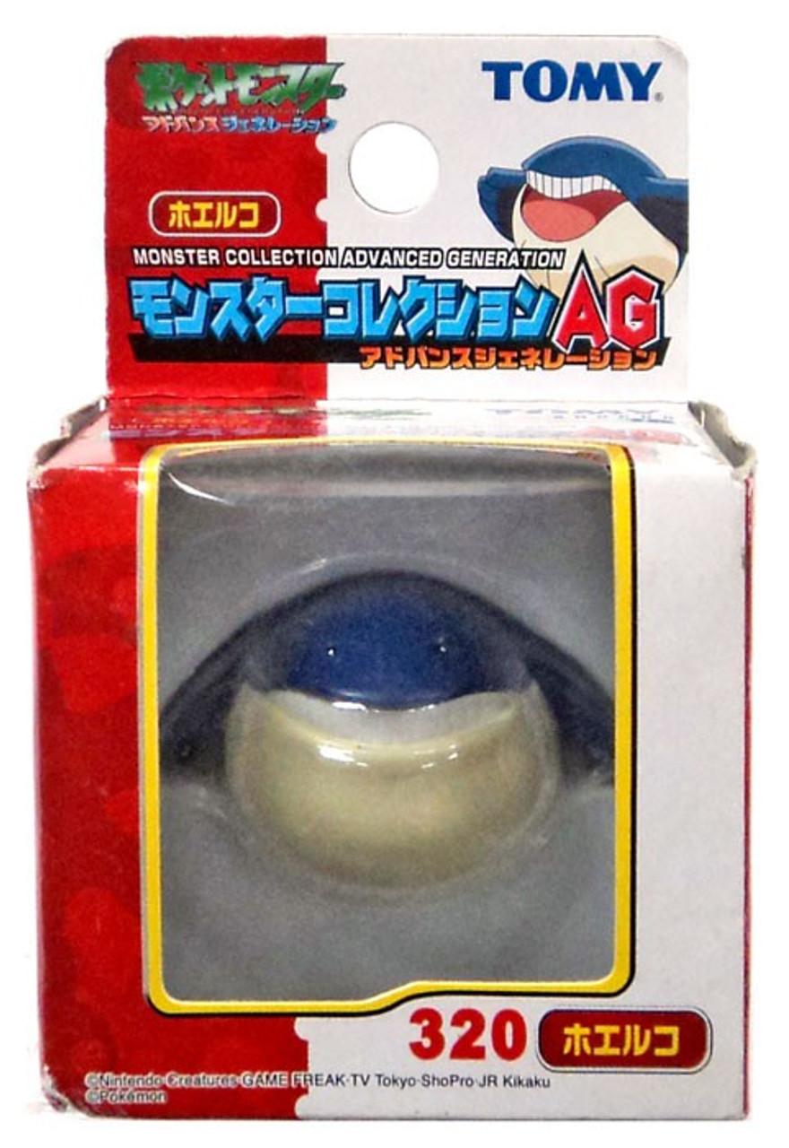 Pokemon Japanese Monster Collection Advanced Generation Wailmer PVC Figure #320