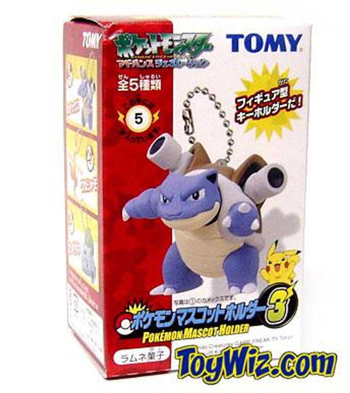 Pokemon Mascot Holder Blastoise Keychain #5