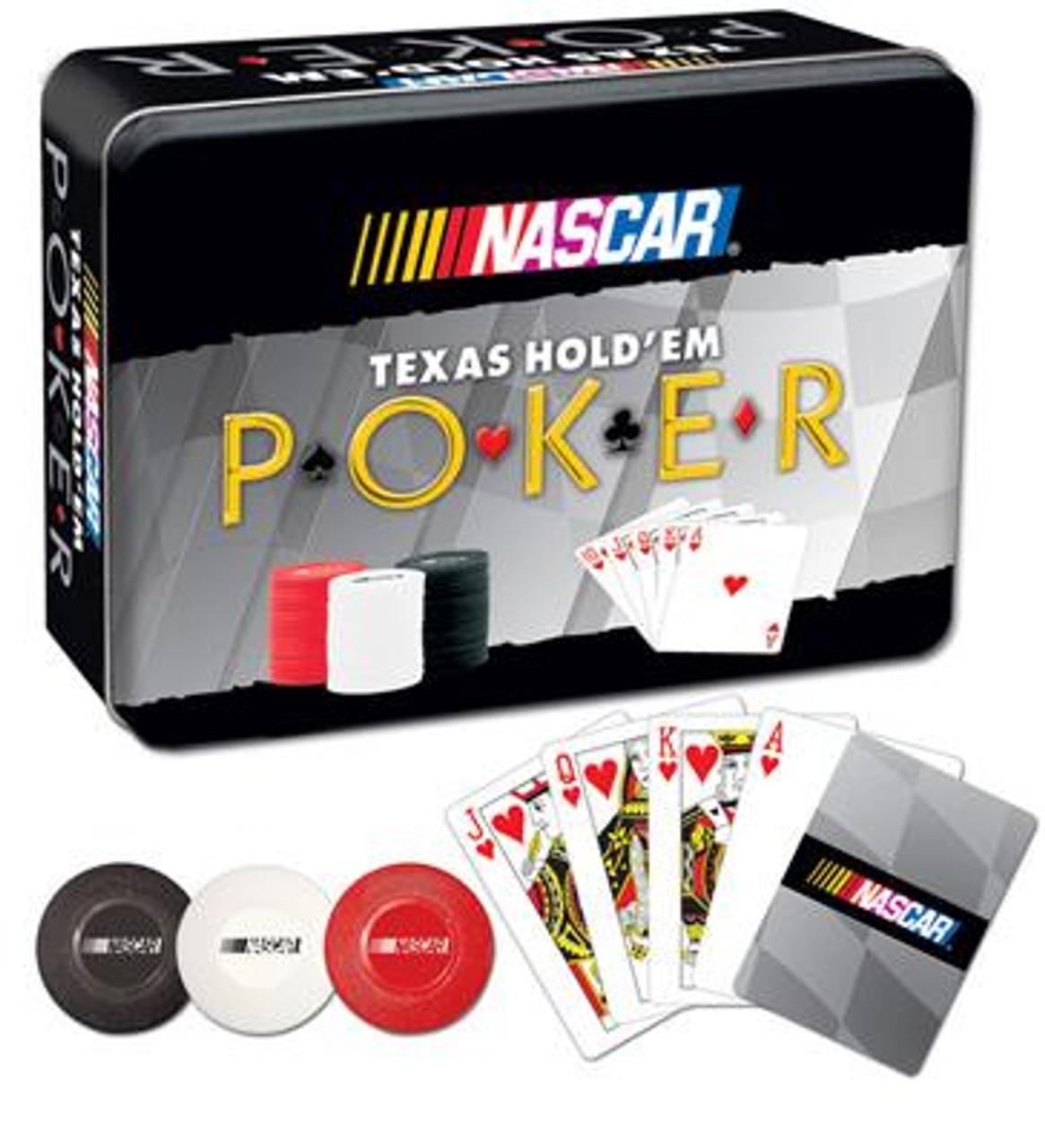 NASCAR Texas Hold 'Em Poker Collector's Set