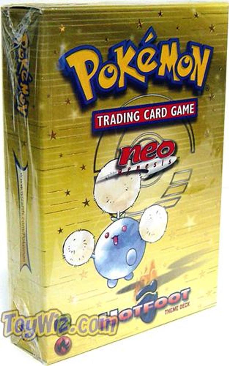 Pokemon Neo Genesis Hotfoot Theme Deck [Sealed Deck]