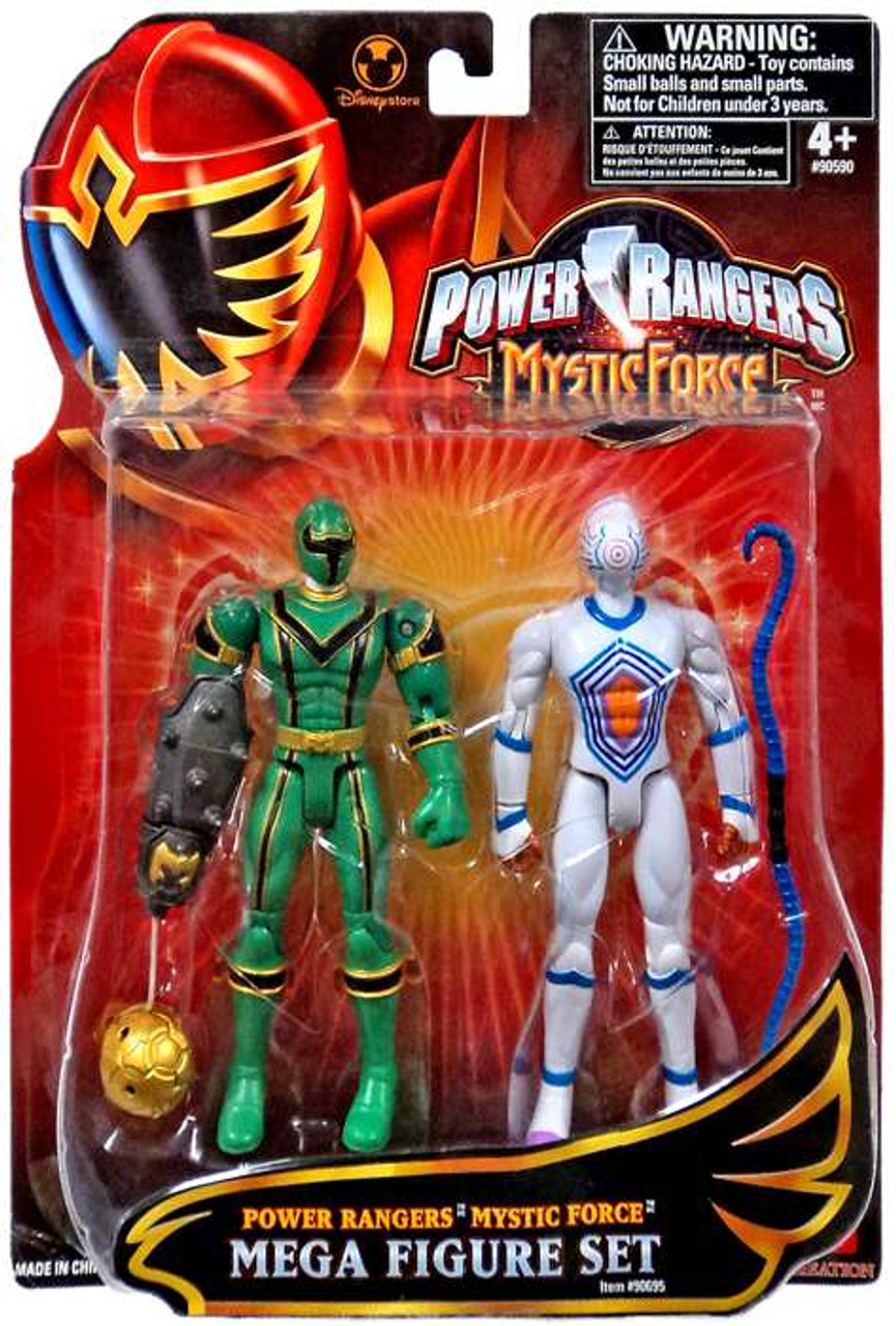 Power Rangers Mystic Force Green Ranger & White Triptoid Exclusive Action Figure 2-Pack
