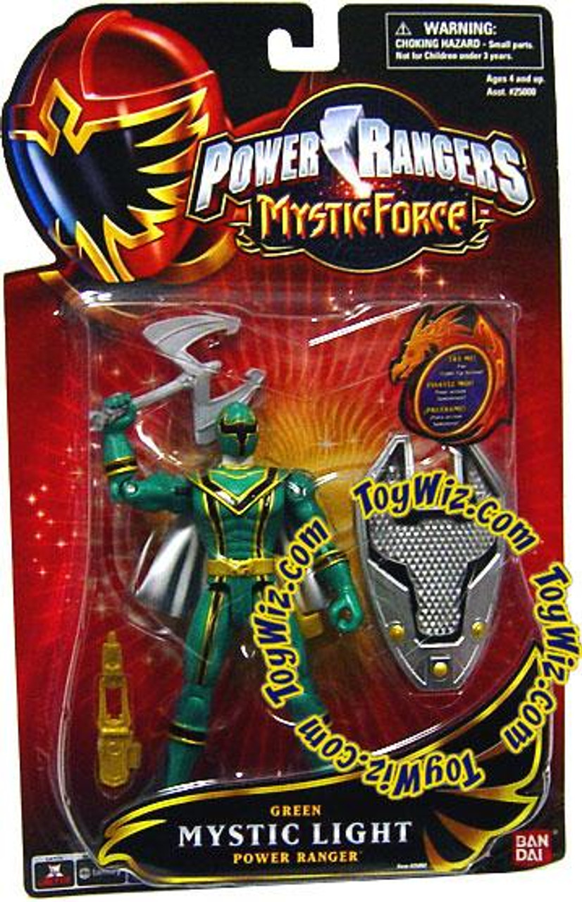 Power Rangers Mystic Force Green Mystic Light Power Ranger Action Figure