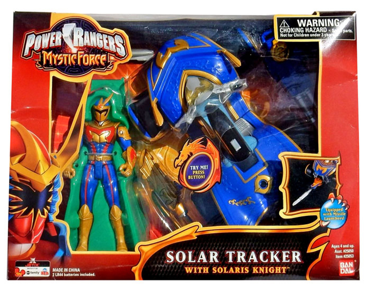 Power Rangers Mystic Force Solar Tracker with Solaris Knight Action Figure