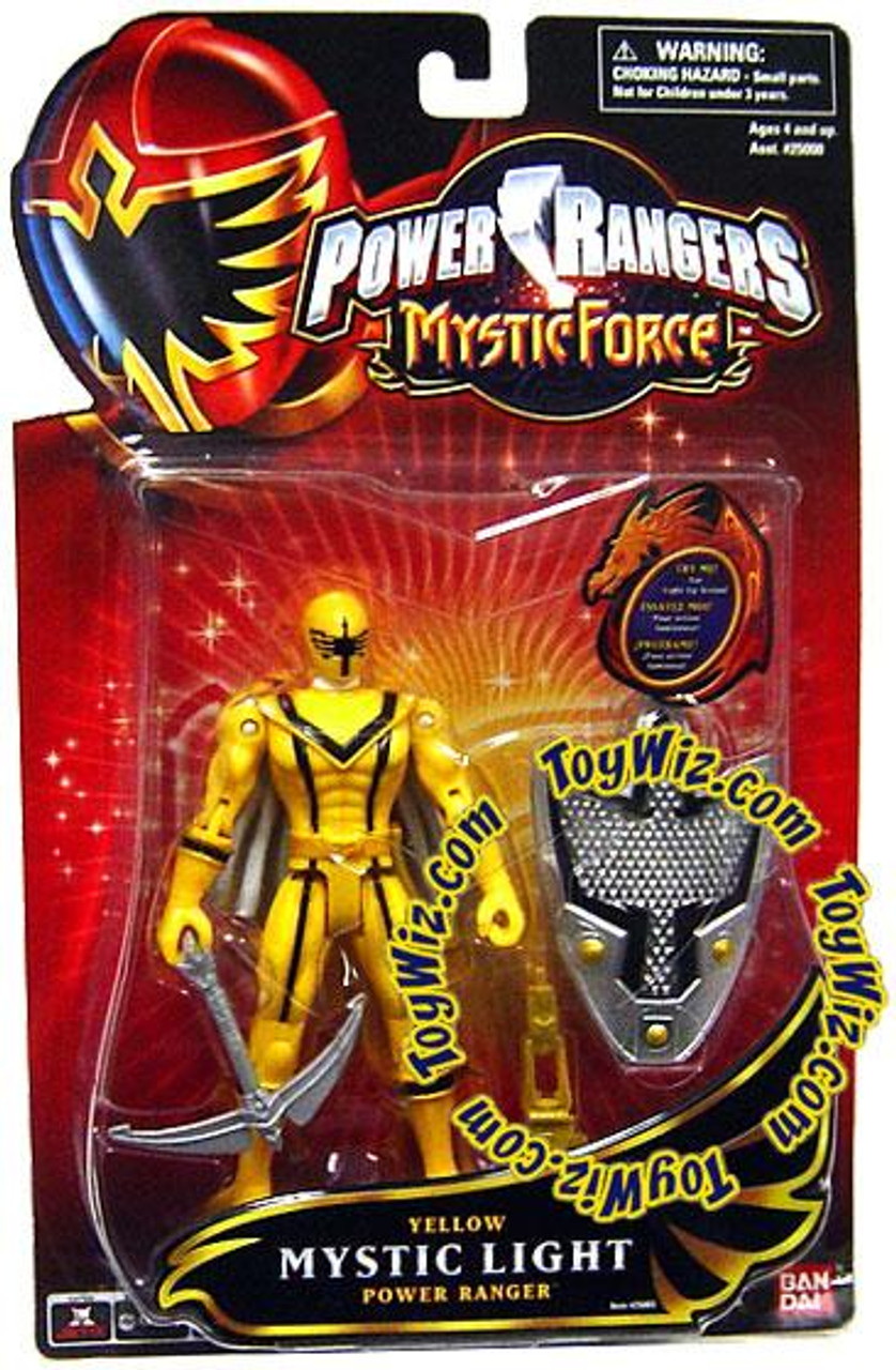 Power Rangers Mystic Force Yellow Mystic Light Power Ranger Action Figure