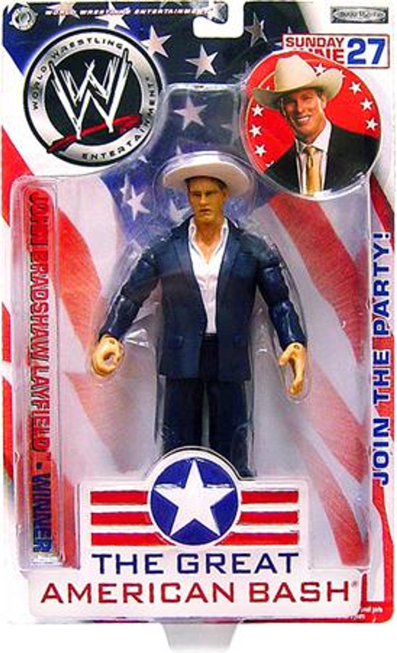 WWE Wrestling The Great American Bash John Bradshaw Layfield Action Figure