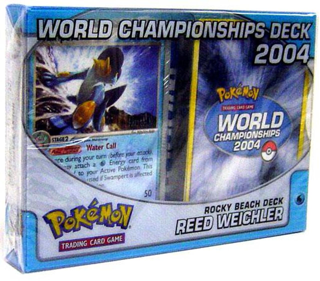 Pokemon World Championships Deck 2004 Reed Weichler's Rocky Beach Deck