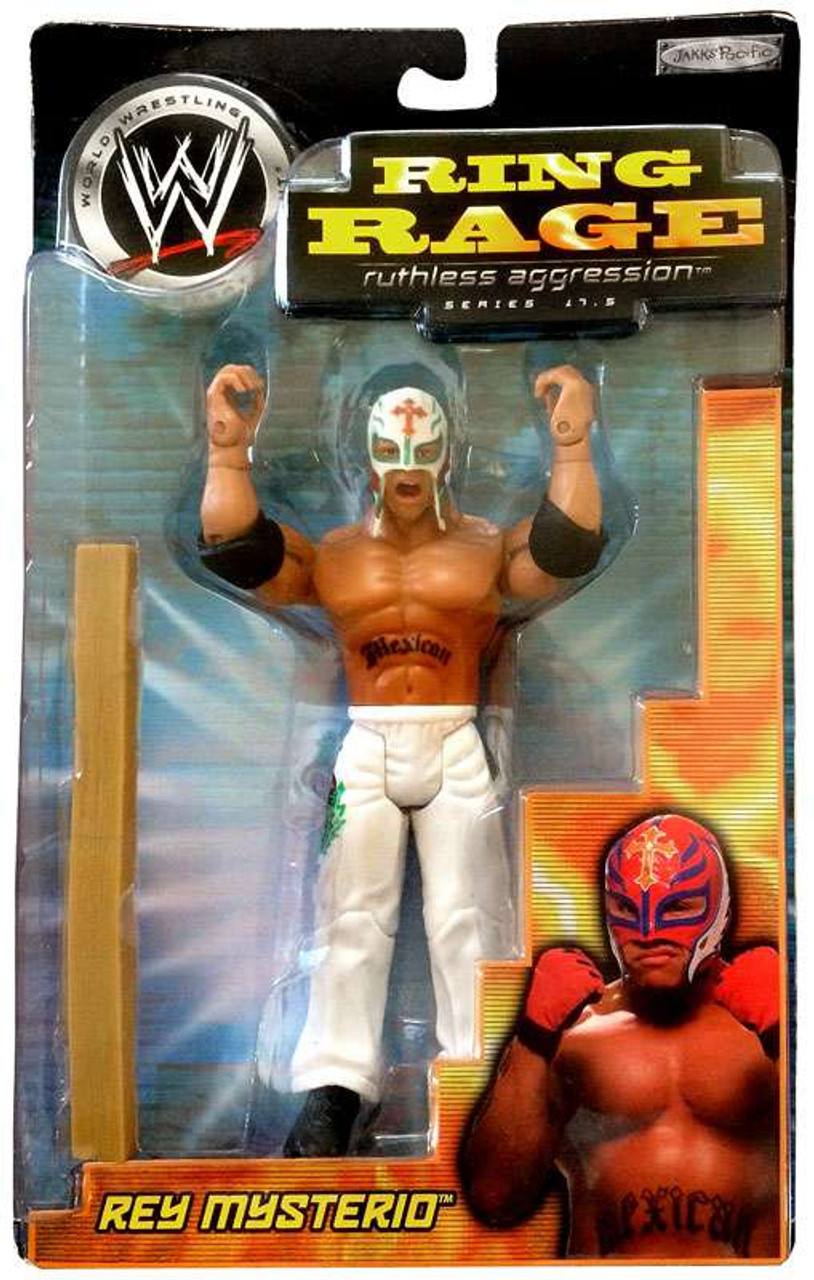 WWE Wrestling Ruthless Aggression Series 17.5 Ring Rage Rey Mysterio Action Figure