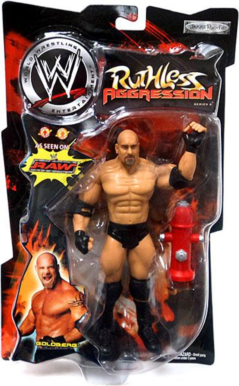 WWE Wrestling Ruthless Aggression Series 4 Goldberg Action Figure