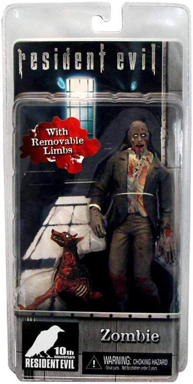 NECA Resident Evil 10th Anniversary Zombie with Dog Action Figure