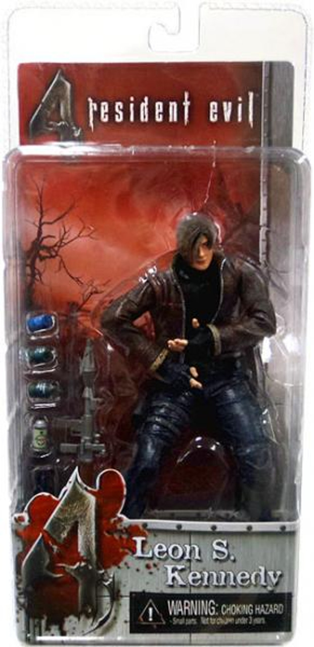 NECA Resident Evil 4 Series 1 Leon S. Kennedy with Jacket Action Figure