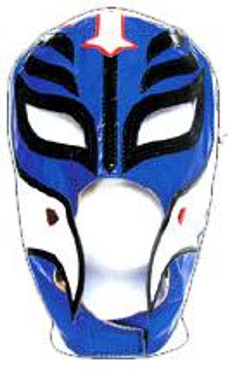 WWE Wrestling Rey Mysterio Replica Mask [Youth, Navy Blue with White Accent]