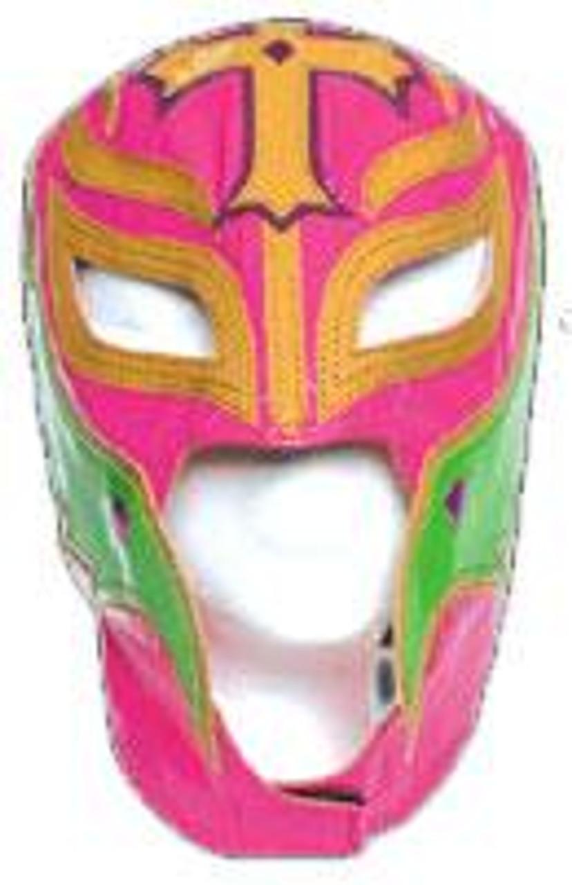 WWE Wrestling WCW Rey Mysterio Replica Mask [Youth, Pink & Green]