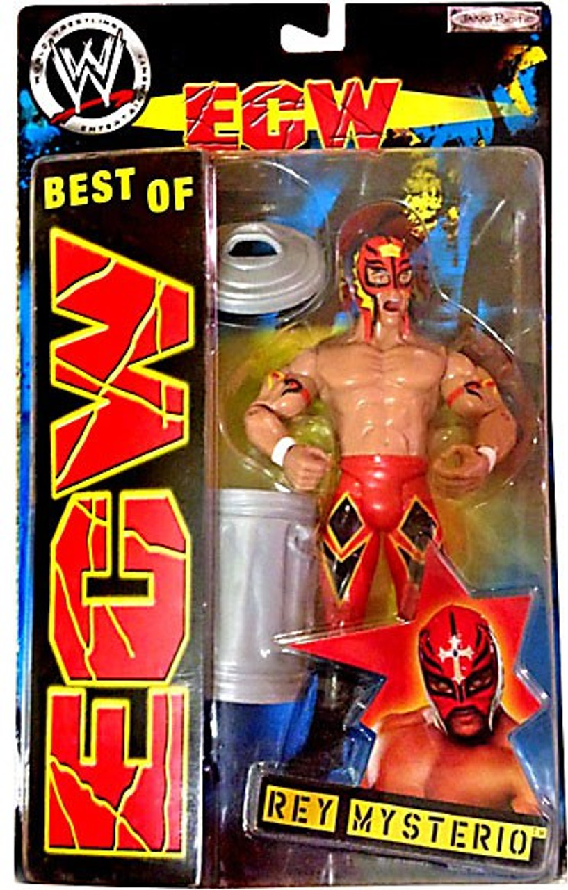 WWE Wrestling Best of ECW Rey Mysterio Action Figure [Red Mask & Pants]