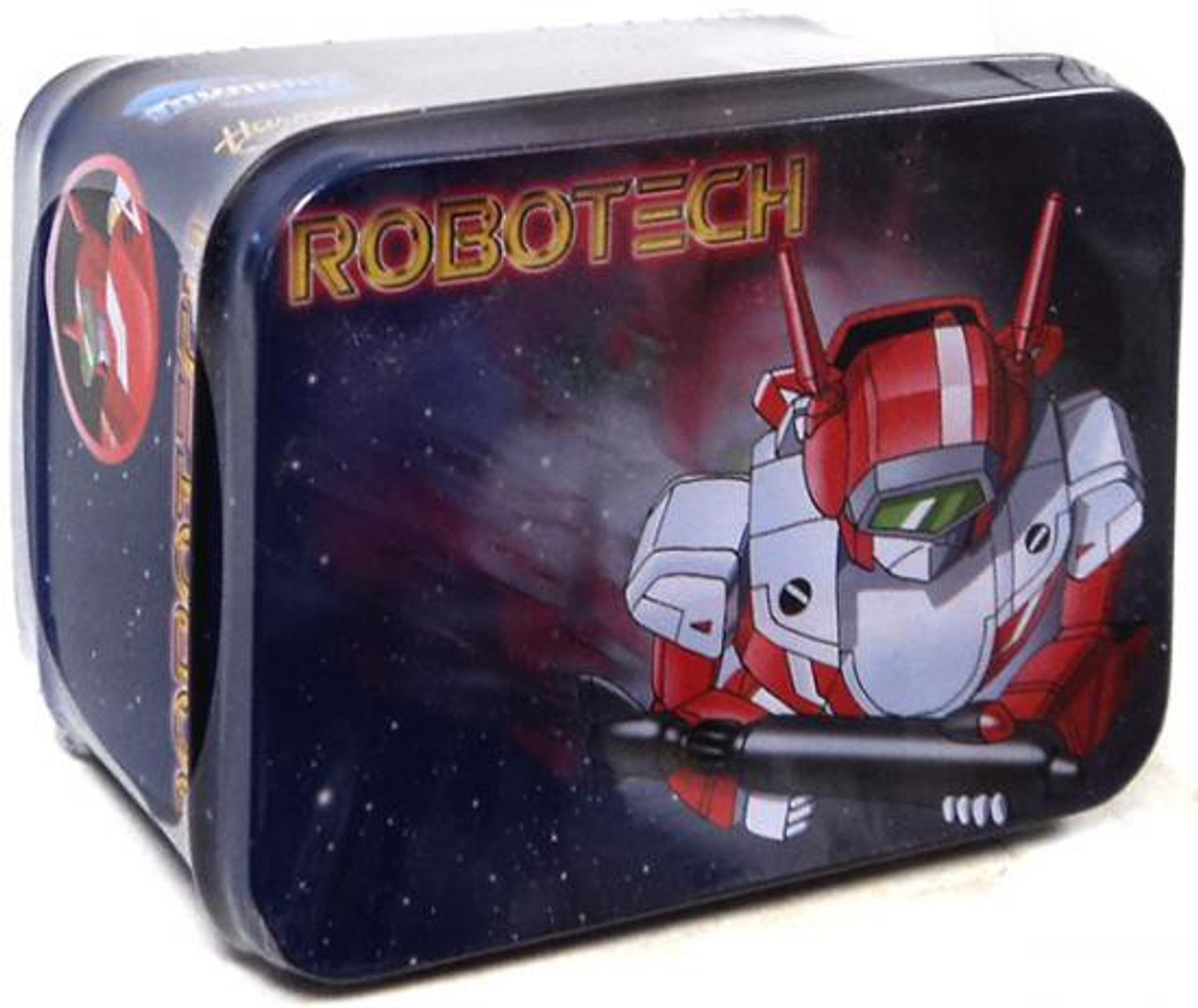 Robotech Macross Super Deformed Veritech Chromed VF-1J Action Figure [Milia]