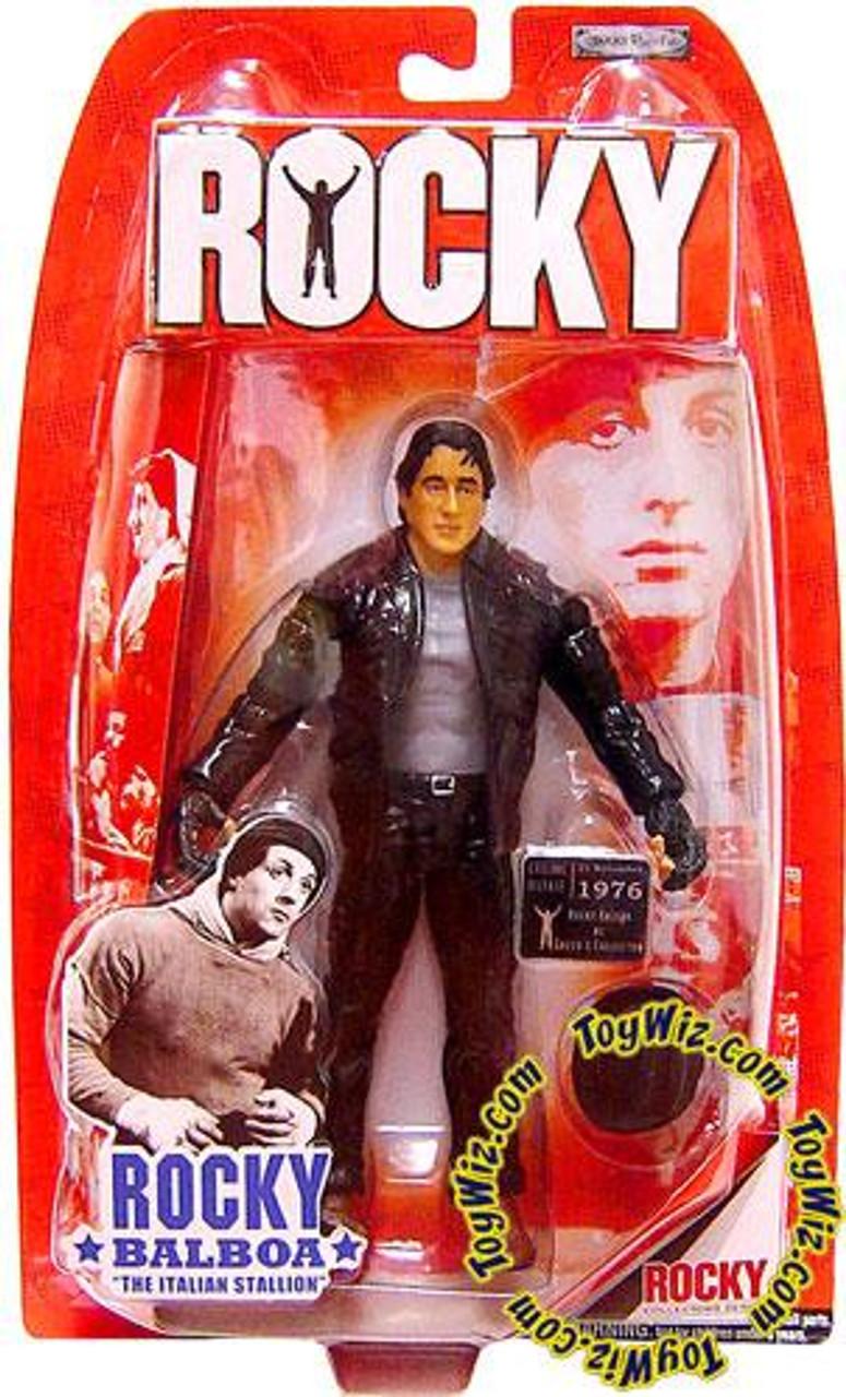 Rocky I Rocky Balboa Action Figure [Leather Jacket]