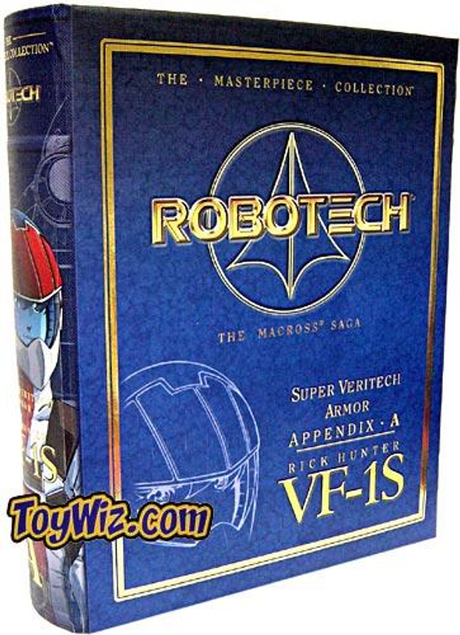 Robotech Macross Saga Masterpiece Collection VF-1S Rick Hunter Set