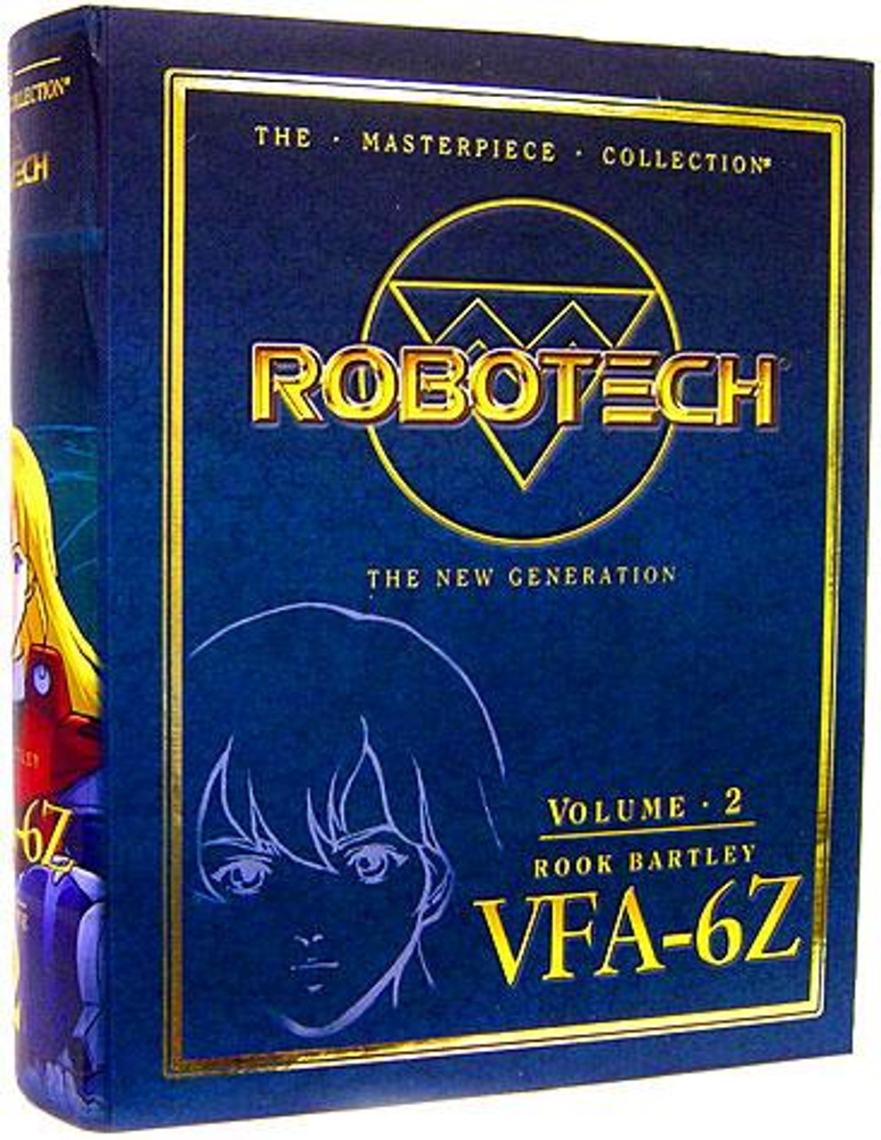 Robotech The New Generation Masterpiece Collection Rook Bartley VFA-6Z Action Figure