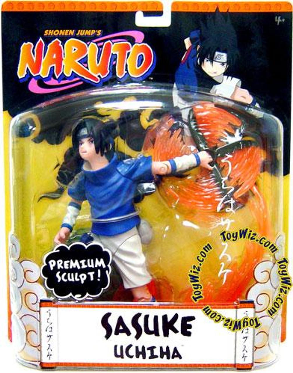 Naruto Premium Sculpt Sasuke Action Figure
