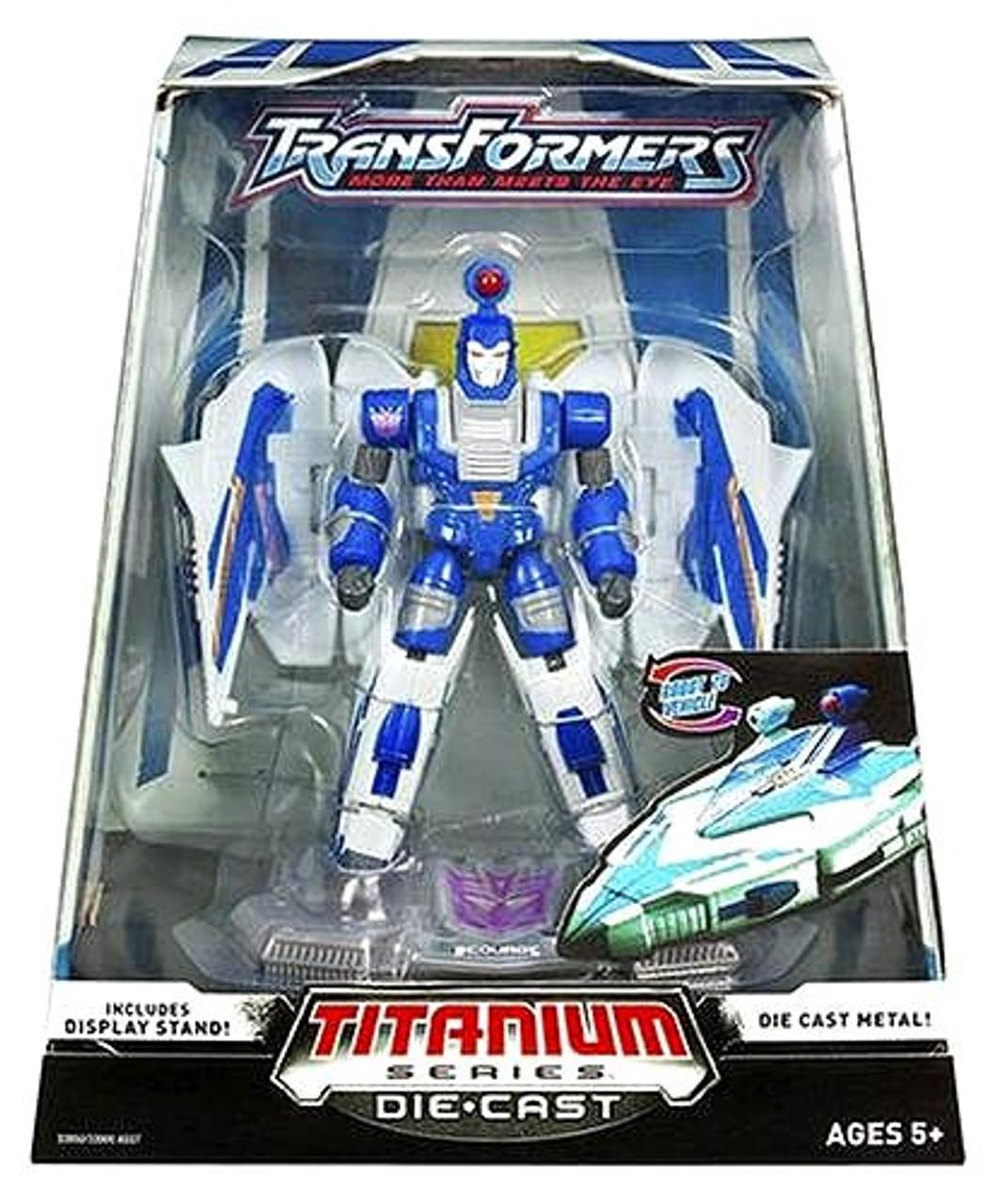 "Transformers War Within TItanium Series Scourge 6-Inch 6"" Diecast Figure"