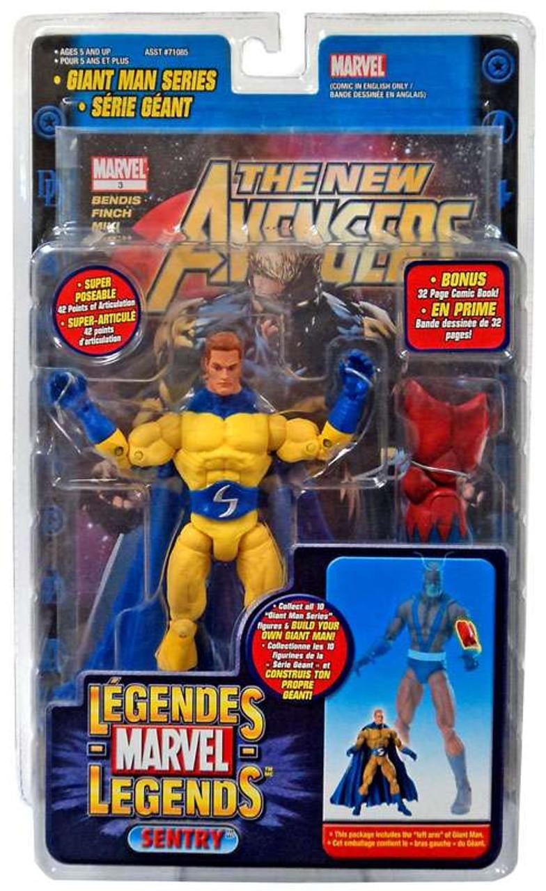 Marvel Legends Giant Man Build A Figure Sentry Exclusive Action Figure
