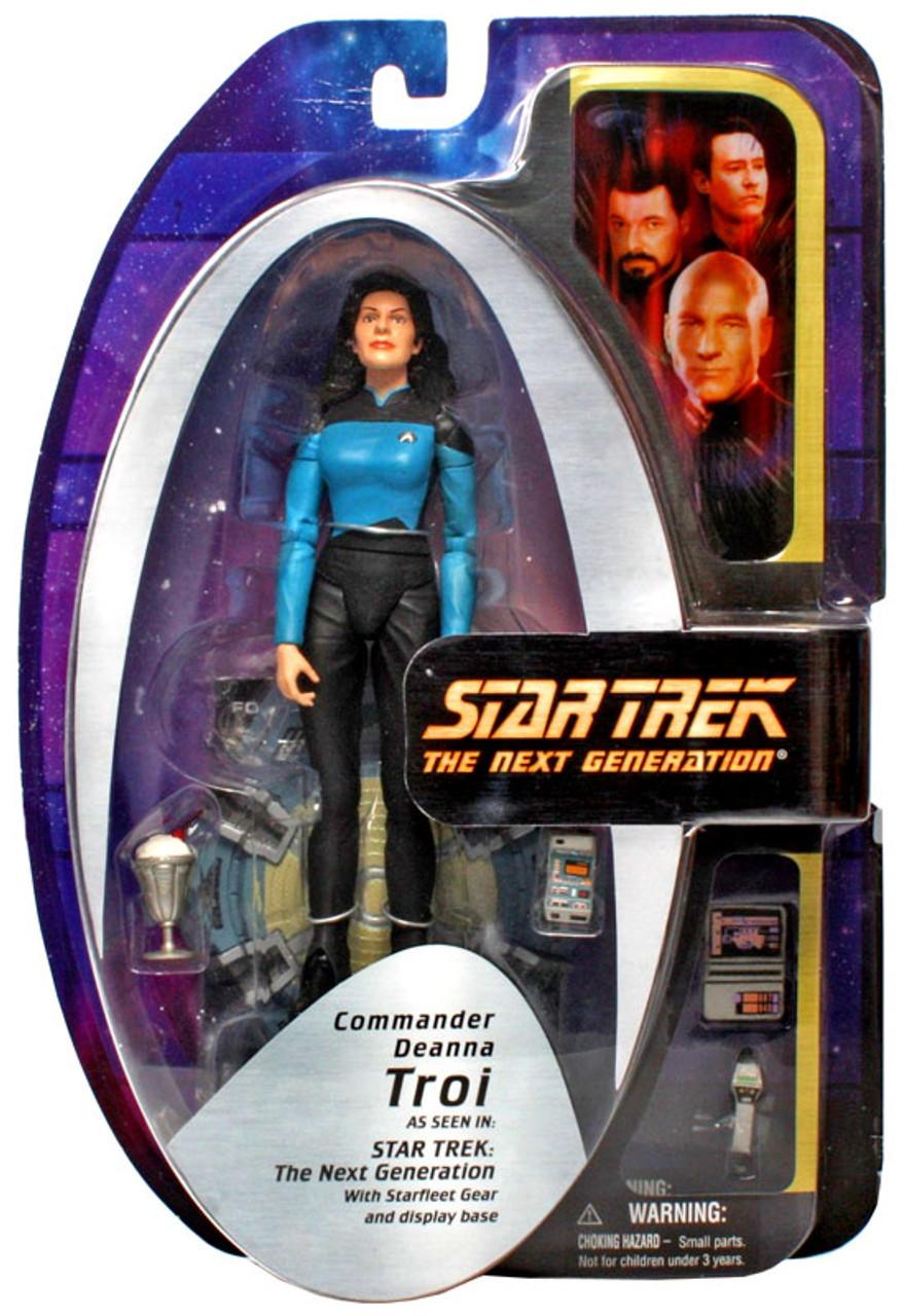 Star Trek The Next Generation TNG Series 2 Commander Deanna Troi Action Figure [Season 7]