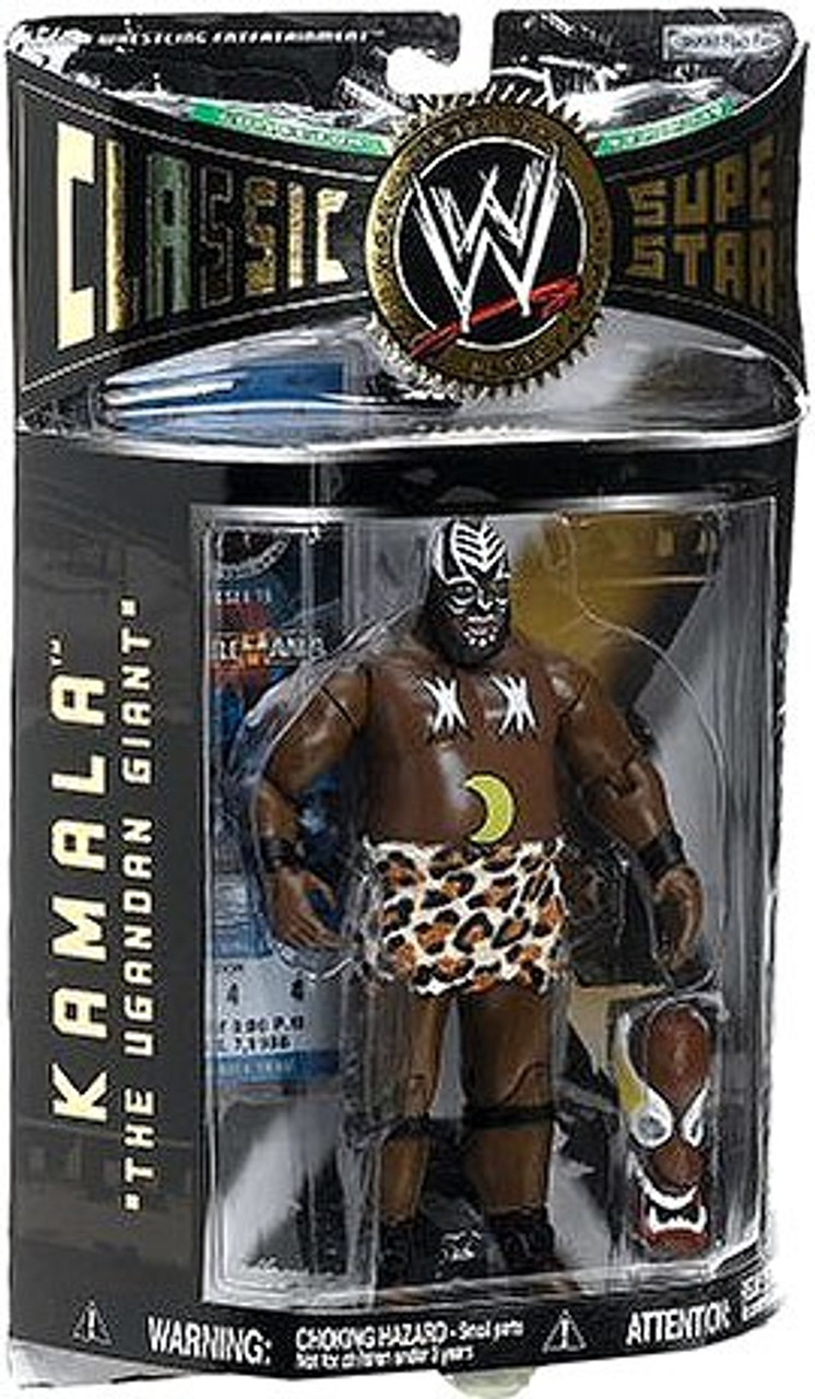 WWE Wrestling Classic Superstars Series 9 Kamala The Ugandan Giant Action Figure