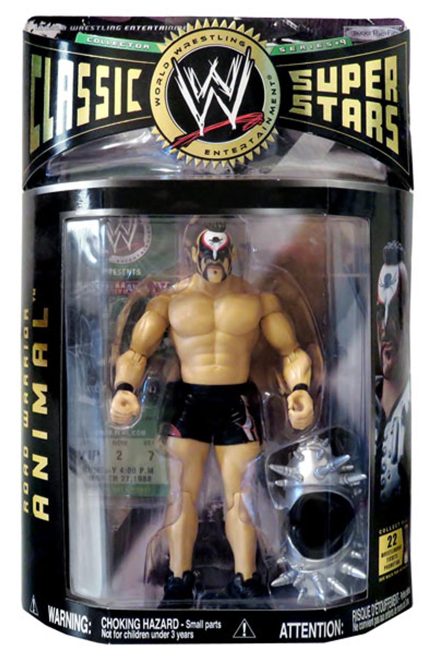 WWE Wrestling Classic Superstars Series 9 Road Warrior Animal Action Figure