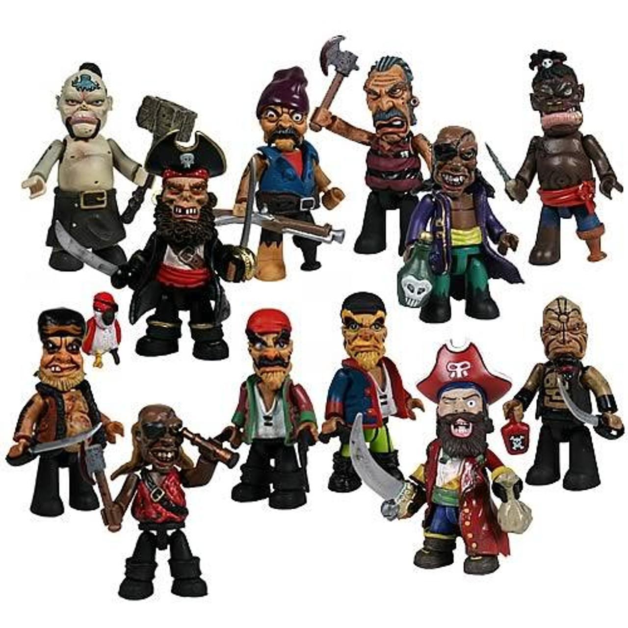 Mez-Itz Pirates Series 1 Set of 12 Mini Figures
