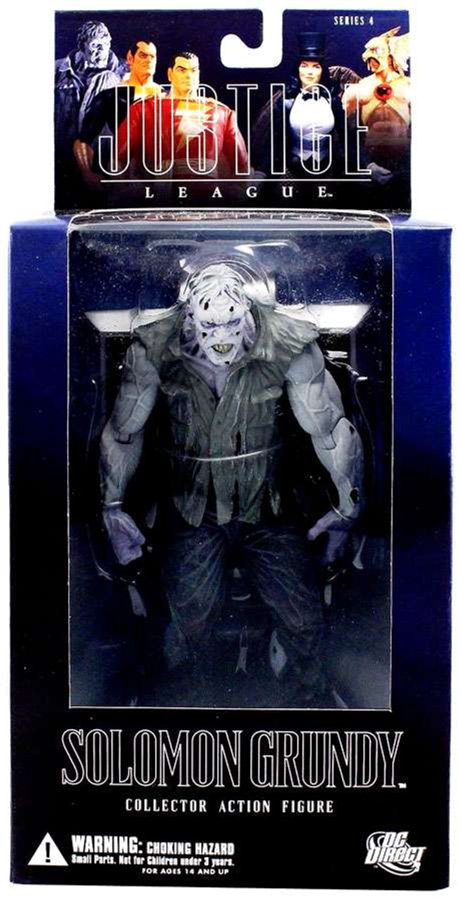 DC Alex Ross Justice League Series 4 Solomon Grundy Action Figure