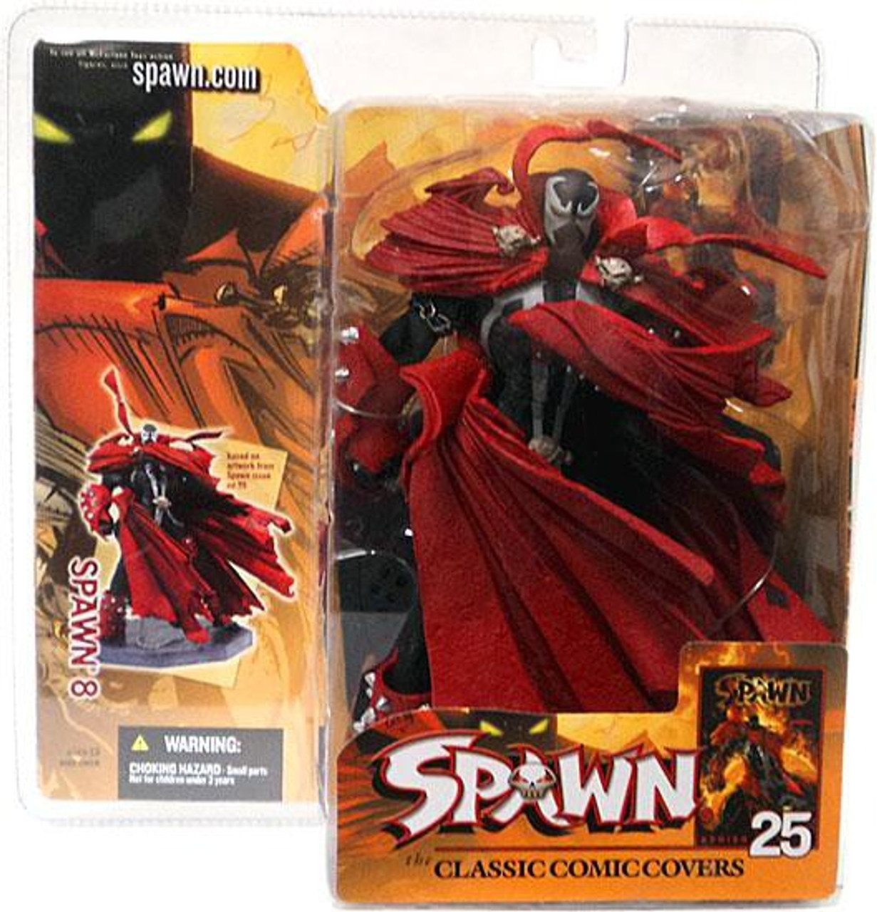 McFarlane Toys Series 25 The Classic Comic Covers Spawn 8 Action Figure
