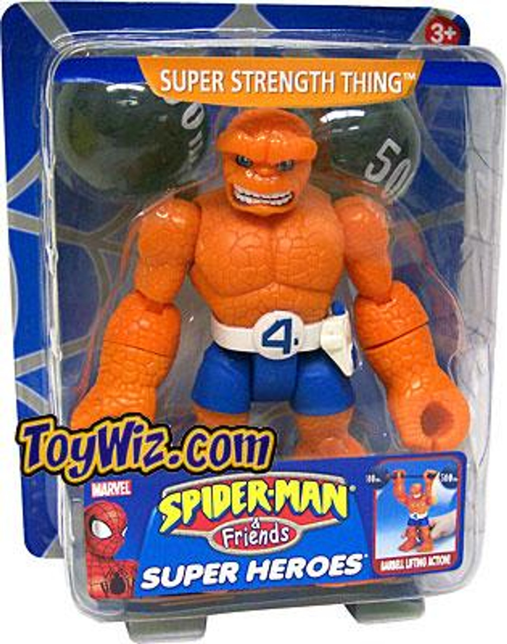 Spider-Man & Friends Super Heroes Super Strength Thing Action Figure [Damaged Package]