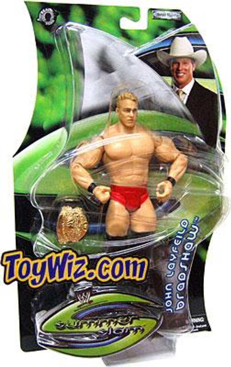 WWE Wrestling Summer Slam John Bradshaw Layfield Action Figure