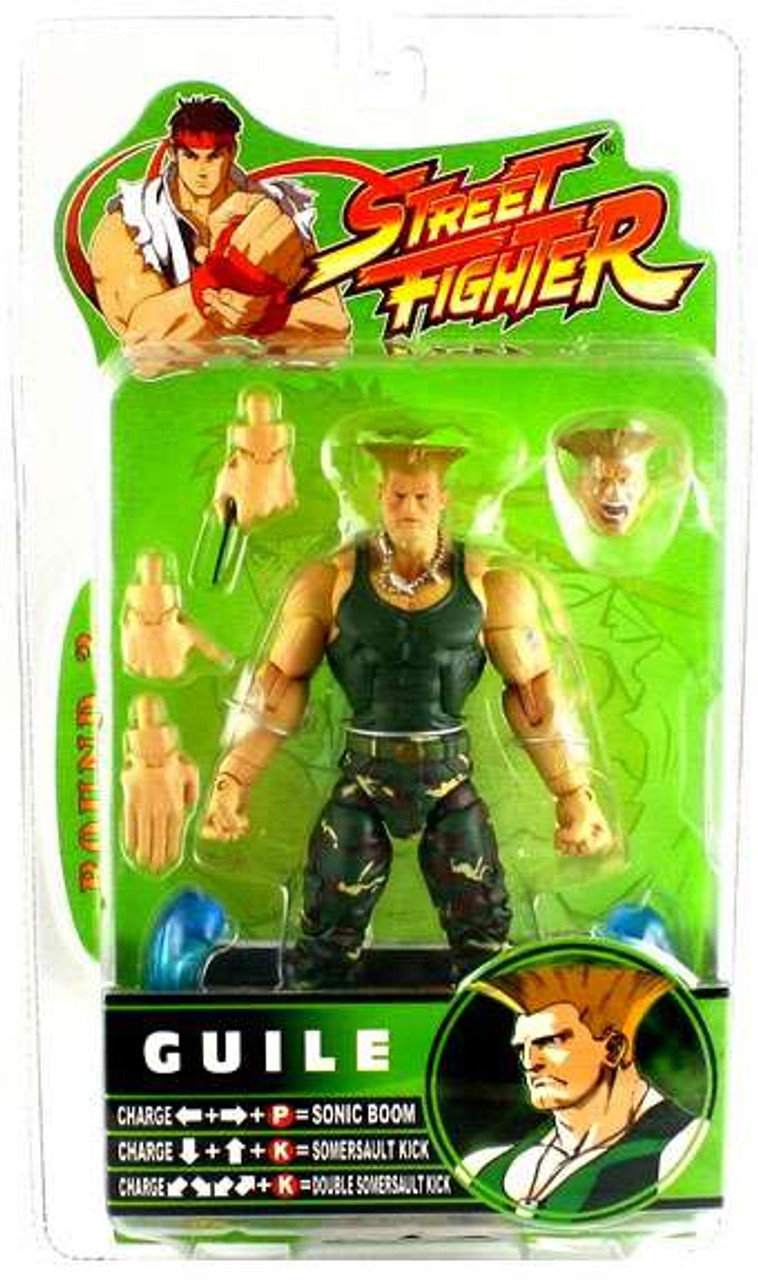 Street Fighter Round 3 Guile Action Figure