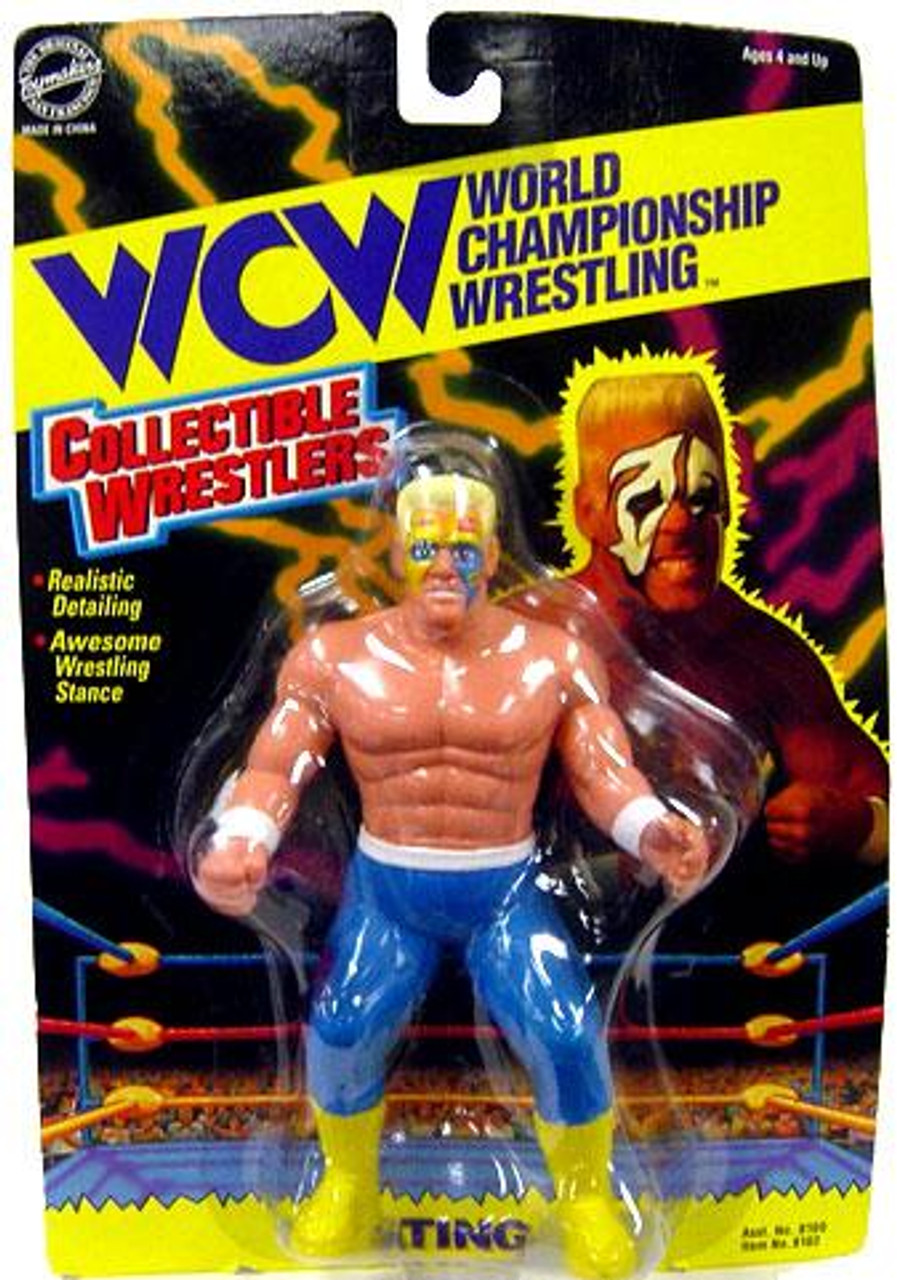 WWE Wrestling WCW Collectible Wrestlers Sting Action Figure [Very Good]