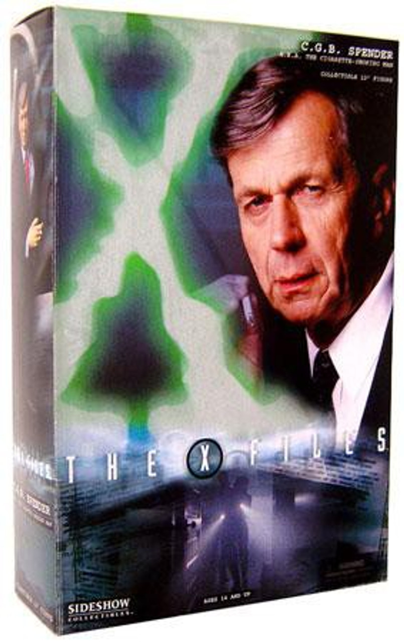 The X-Files CGB Spender Action Figure [The Cigarette Smoking Man]