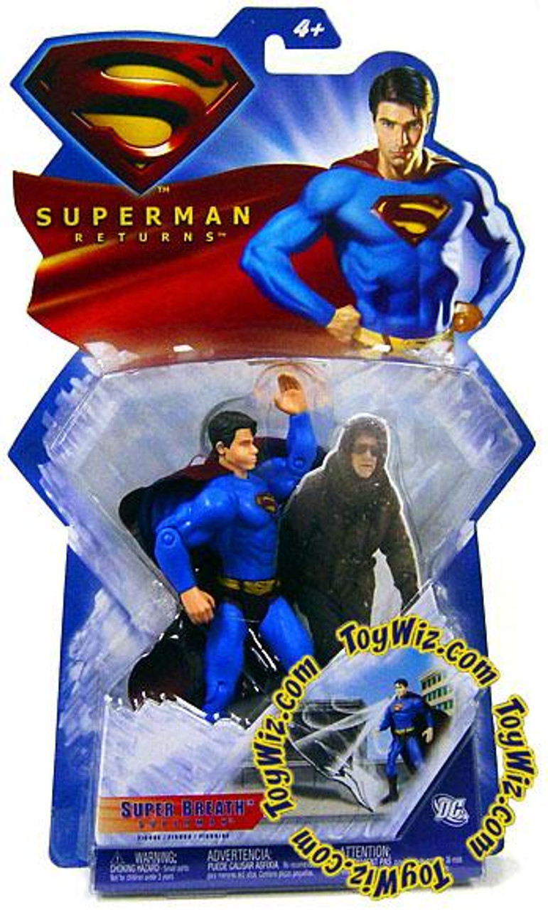 Superman Returns Superman Action Figure [Super Breath]