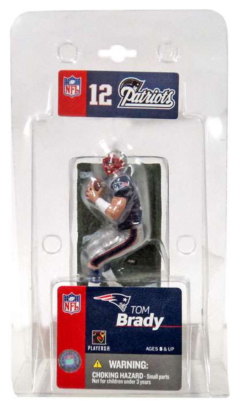 McFarlane Toys NFL New England Patriots Sports Picks 3 Inch Mini Tom Brady Mini Figure